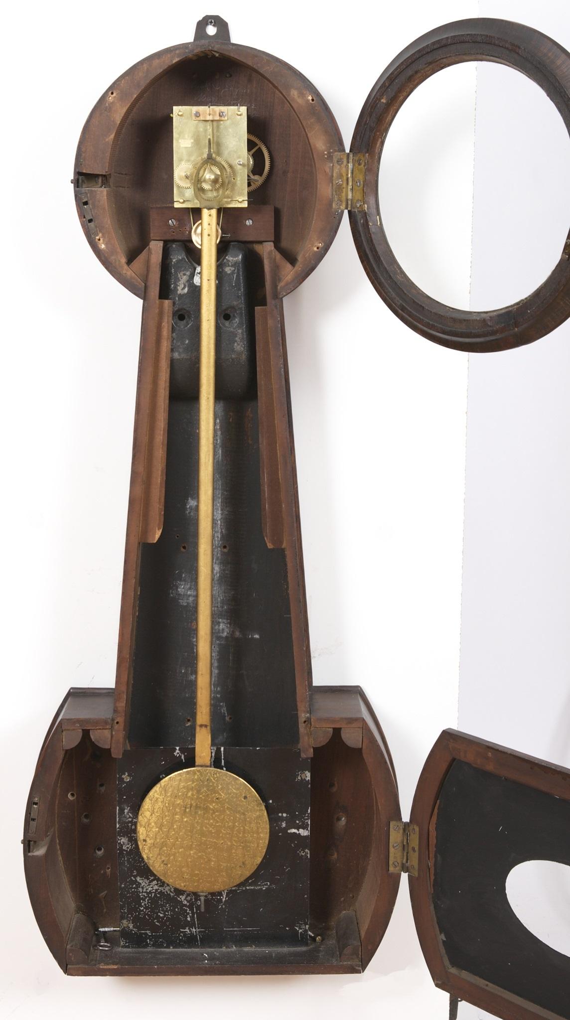 Howard Amp Davis 2 Regulator Banjo Clock For W H C Riggs