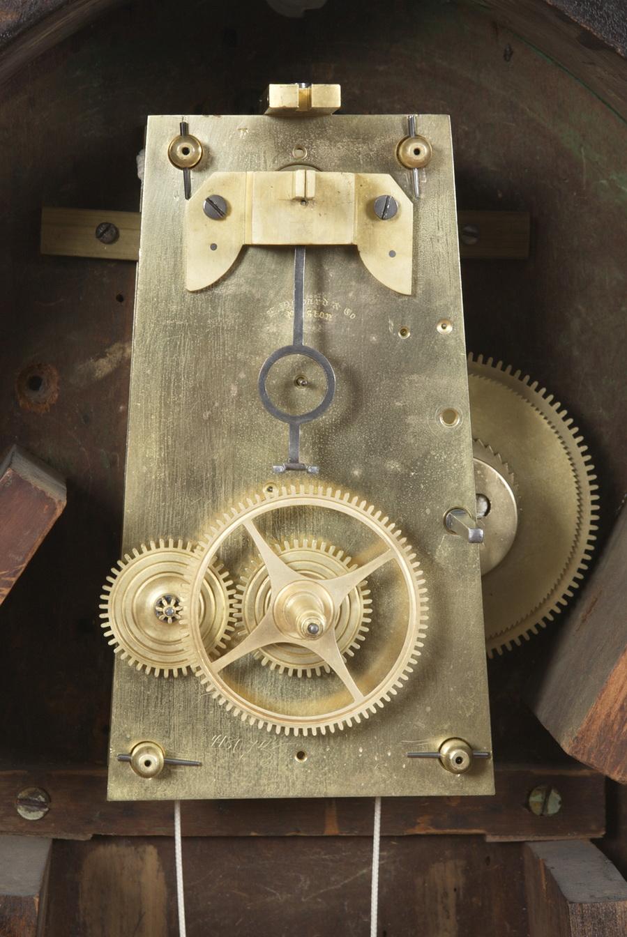 E Howard Amp Company 1 Boston Ma Weight Driven Regulator