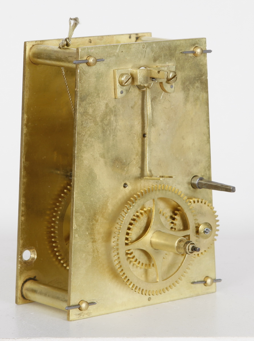 Hatch Rosewood Keyhole Weight Driven Regulator Clock North
