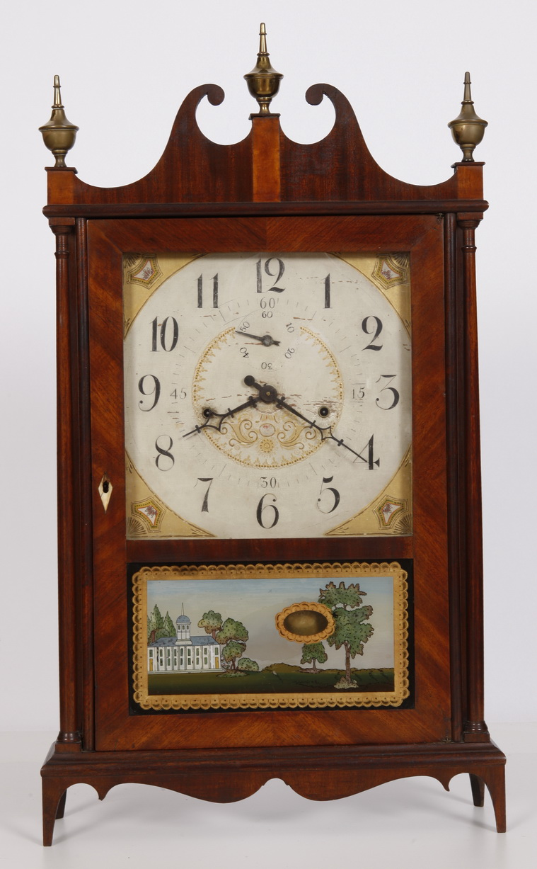Seth Thomas Off Center Pillar & Scroll Clock | Adams Brown
